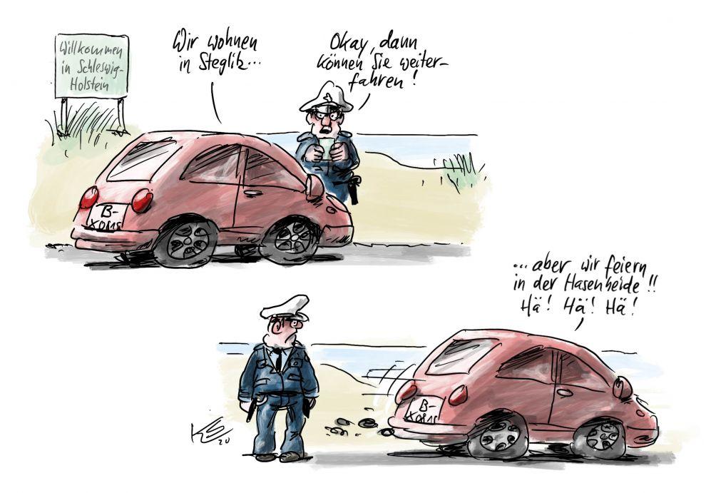 Karikatur vom 05.10.2020