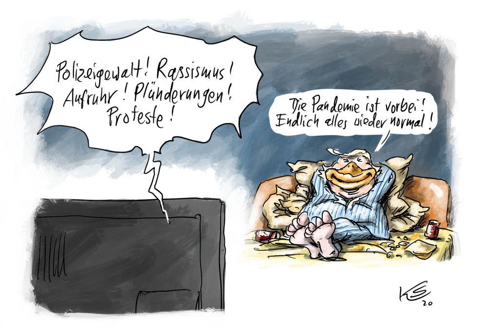 Karikatur vom 01.06.2020