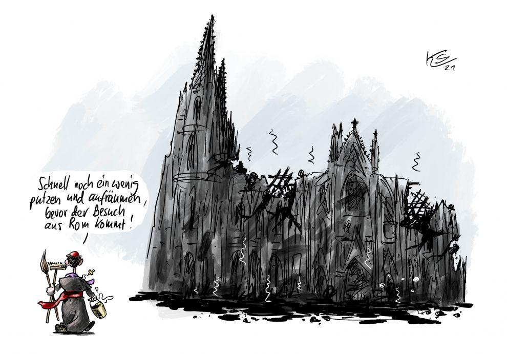 Karikatur vom 28.05.2021